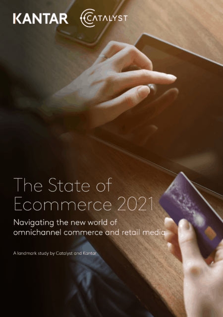 State of eCommerce 2021 Cover 450x637 1 THE STATE OF E-COMMERCE 2021